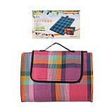 Водонепроницаемый коврик для пикника кемпинга и пляжа 140*200 см, фото 3