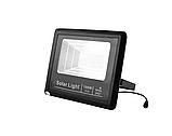 Прожектор 9100 100W SMD, IP67, солнечная батарея, пульт ДУ, встроенный аккумулятор, таймер, датчик, фото 2