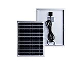 Прожектор 9100 100W SMD, IP67, солнечная батарея, пульт ДУ, встроенный аккумулятор, таймер, датчик, фото 4