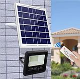 Прожектор 9100 100W SMD, IP67, солнечная батарея, пульт ДУ, встроенный аккумулятор, таймер, датчик, фото 8