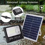 Прожектор 9100 100W SMD, IP67, солнечная батарея, пульт ДУ, встроенный аккумулятор, таймер, датчик, фото 9