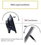 Прожектор 9100 100W SMD, IP67, солнечная батарея, пульт ДУ, встроенный аккумулятор, таймер, датчик, фото 10