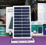 Прожектор JD-7200 200W, IP67, солнечная батарея, пульт ДУ, встроенный аккумулятор, таймер, датчик, фото 8