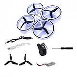 Квадрокоптер Drone 928 с перчаткой управления рукой и датчиками препятствий, фото 8