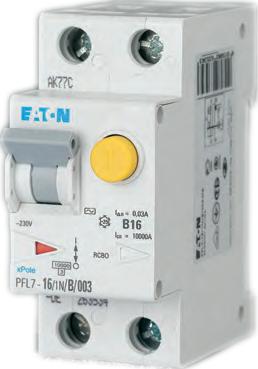 Автоматы дифференциальные PFL7 10kA Eaton (Moeller)