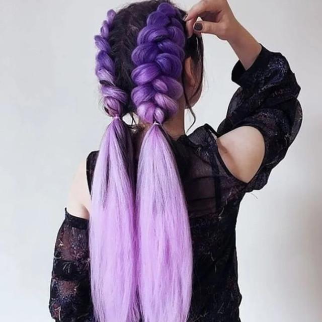 Канекалоны, пряди волос