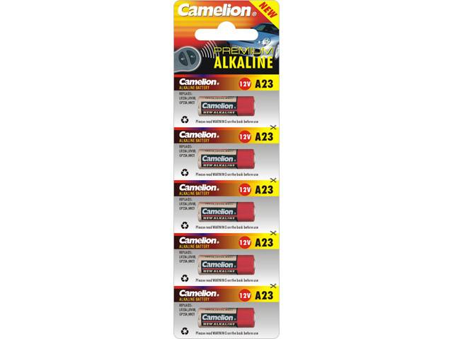 Батарейка Camelion Алкалайн A23/5bl 12V(5)(50)