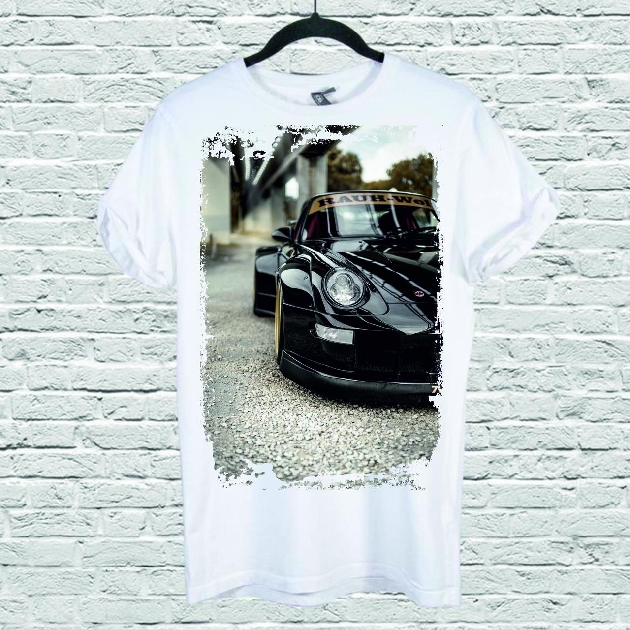 Футболка YOUstyle Car 0225 XXL White