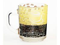 """Чашка скло 200мл """"Green Tea"""" Кава ШК №1 №3972/0168/Галерея/(20)"""