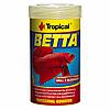 Корм Tropical Betta для аквариумных рыб петушков в хлопьях 100 мл (77063)