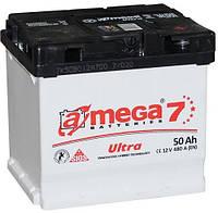 Обслуживаемый аккумулятор A-MEGA Ultra  6ст-50Ah 480A R+ на легковой автомобиль