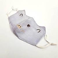 Маска тканевая Мышки Синяя