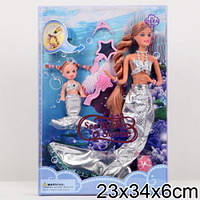 Кукла Барби Русалочка в коробке 21011 Defa Lucy Китай