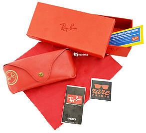 Футляр чехол для очков Ray Ban (полный комплект) Red