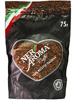 Кофе натуральный растворимый сублимированный Nero Aroma 75 г.