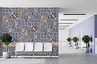 Арт фотообои в винтажном стиле плитка Portuguese Vintage Tiles 310 см х 280 см