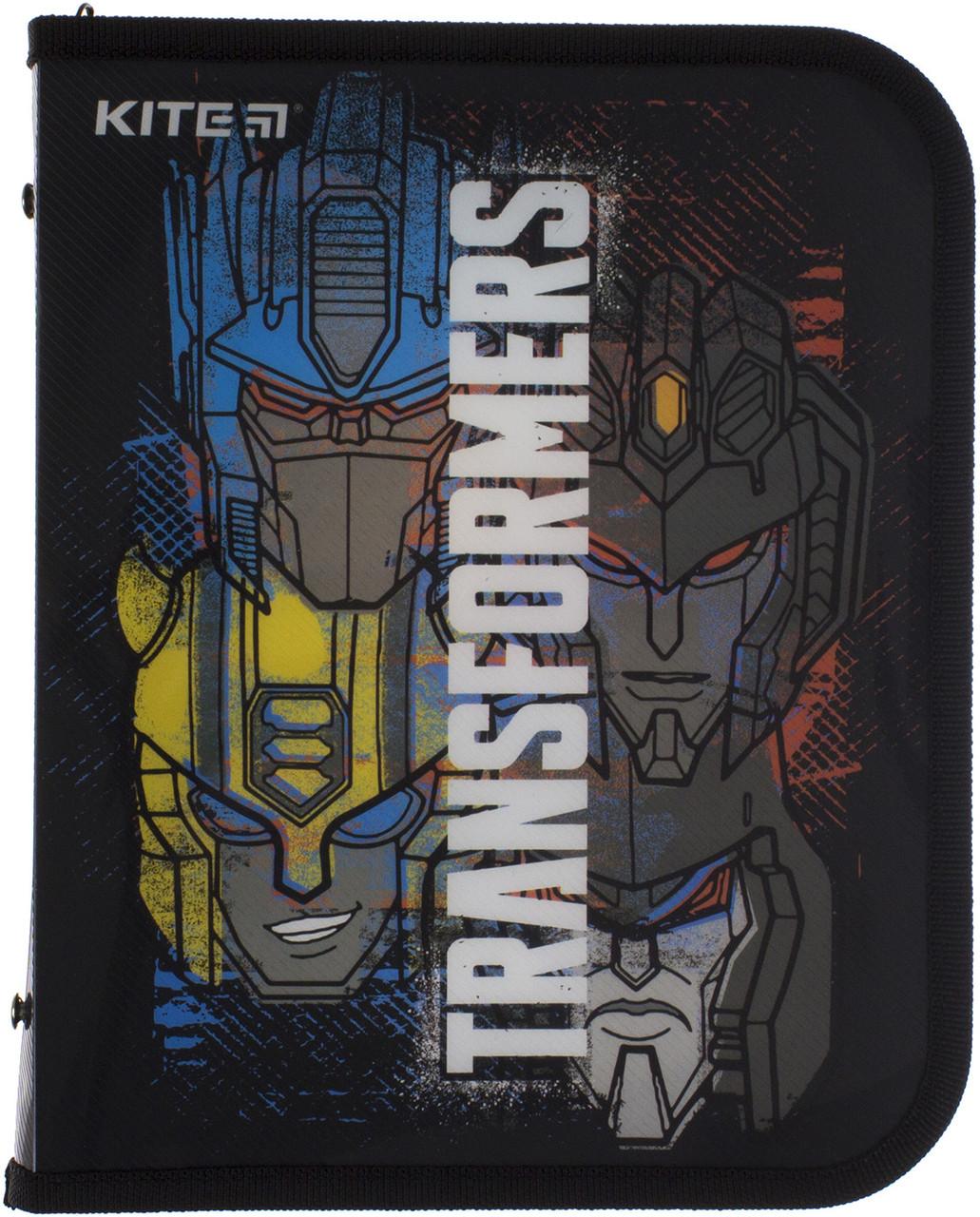 """Папка для зош. B5 """"Kite"""" №TF20-203 Transformers на блиск. об'ємн.(60)"""