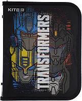 """Папка для зош. B5 """"Kite"""" №TF20-203 Transformers на блиск. об'ємн.(60), фото 1"""