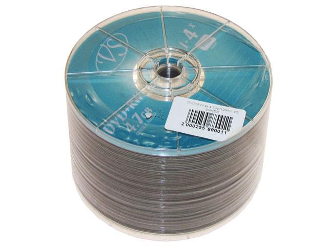 "DVD+RW ""VS"" 4х 4.7 Gb/120min bulk(50)"