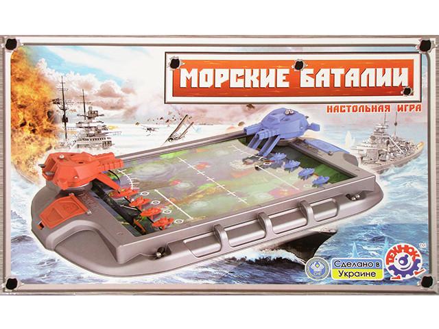 """Гра """"Морські баталії"""",укр.,""""Технокомп"""" №1110(4)"""