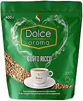 """Кофе натуральный растворимый сублимированный Gusto Ricco, 400г """"Dolce Aroma"""""""