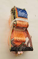Стяжка груза 5 т., 50мм х 6м (0,5+5,5) пластик. ручка <STANDARD>