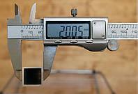 Труба алюминиевая 20х20х2,0мм АД31, фото 1