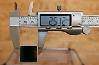 Труба алюминиевая 25х25х1,0мм АД31, фото 1