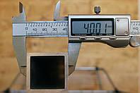Труба алюминиевая 40х40х4мм 6060 (АД31), фото 1