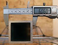 Труба алюминиевая 60х60х2,0мм АД31