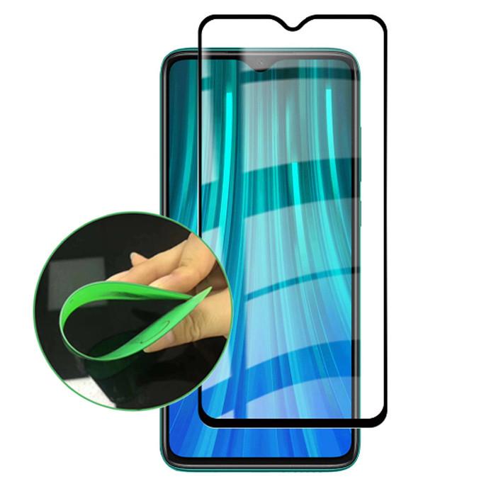 Гибкое полимерное защитное стекло Ceramics для Xiaomi Redmi Note 8 Pro