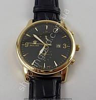 Часы Rolex 6295 мужские золото с черным календарь копия, фото 1