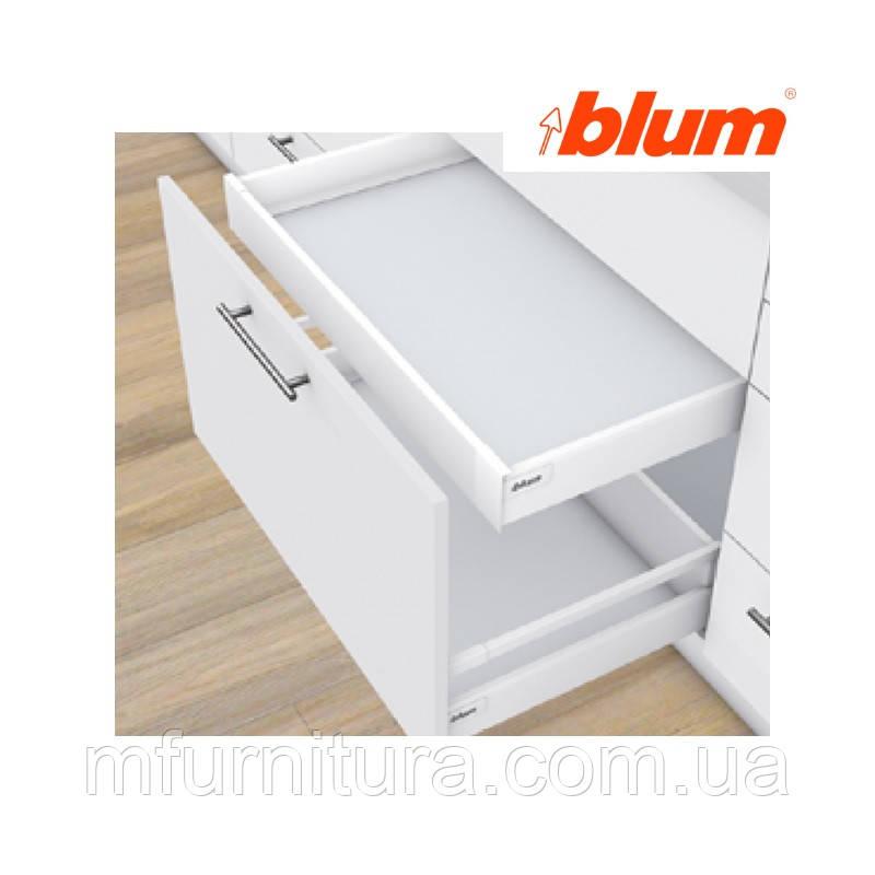 TANDEMBOX antaro, 450 мм, M(83.6), внутренний ящик,Tip-ON Blumotion, белый стандарт - blum (Австрия)