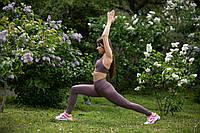 Спортивные Лосины для йоги,танцев и фитнеса , ТМ Plum c высокой талией