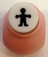Дырокол Мальчик 1 см кнопка