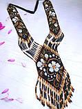 Украшение - гердан из бисера, фото 3