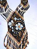 Украшение - гердан из бисера, фото 4