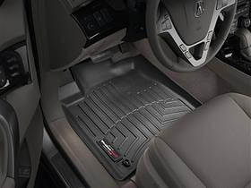 Ковры резиновые WeatherTech  Acura MDX 2007-2013 передние черные