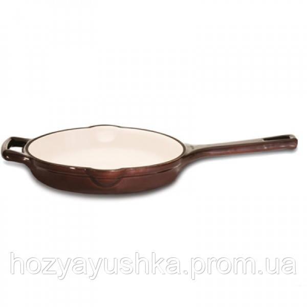 Чугунная эмалированная сковорода BergHOFF Neo Cast Iron 23 см, 1,2 л без крышки