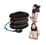 Надувной ортопедический воротник для шеи Ting Pai, подушка для шеи, фиксатор для шеи ОПТ, фото 2
