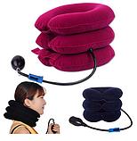Надувной ортопедический воротник для шеи Ting Pai, подушка для шеи, фиксатор для шеи ОПТ, фото 8