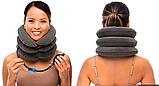 Надувной ортопедический воротник для шеи Ting Pai, подушка для шеи, фиксатор для шеи ОПТ, фото 9