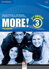 Рабочая тетрадь More! 2nd Edition 3 Workbook