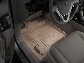 Ковры резиновые WeatherTech  Acura MDX 2007-2013 передние бежевые