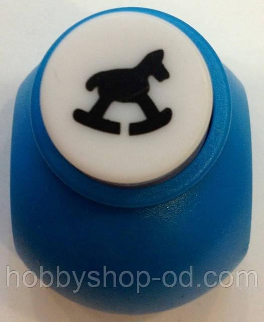 Дырокол Лошадка-качалка 1 см кнопка