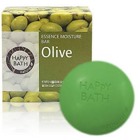 Увлажняющее мыло с экстрактом оливы Amore Pacific Happy Bath Essence Moisture Bar Olive 100 г (8806403031106)