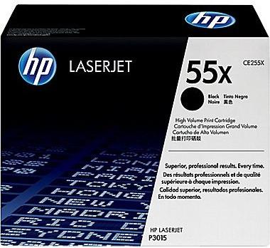 Тонер-картридж HP 55X CLJ CM6040/CM6030 Black 12500 страниц