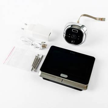 Відеовічко з датчиком руху і функцією запису фото/відео (RN 197)