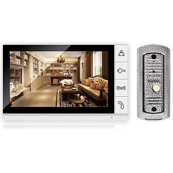 Відеодомофон DP998 Білий (30-SAN260)