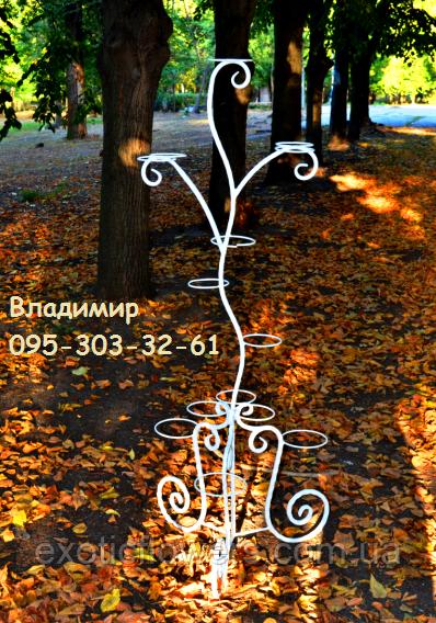 "Подставка для цветов на 15 колец ""Дерево-5"""